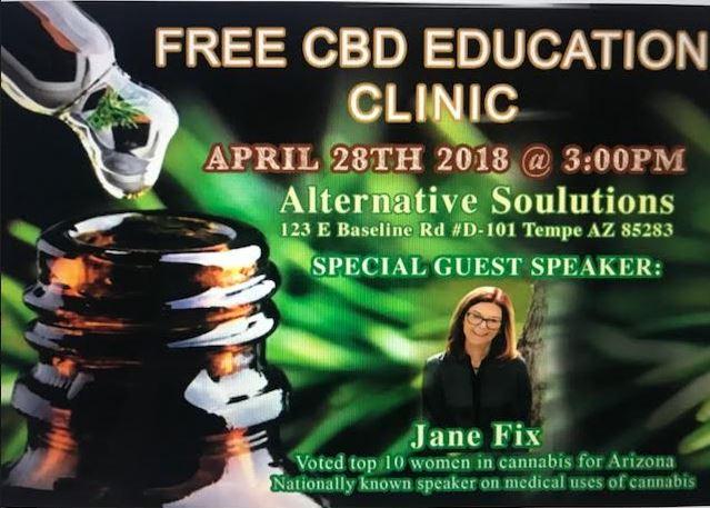 Free CBD Education Clinic | Alternative Soulutions