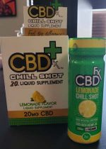 CBD Fx Lemonade Chill Shot